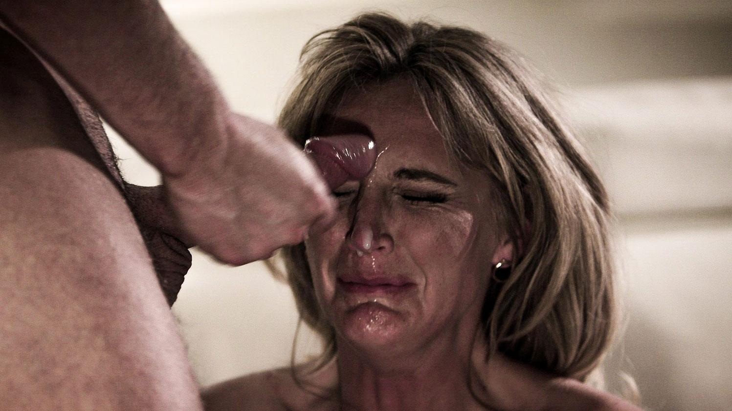 Crying anal mom